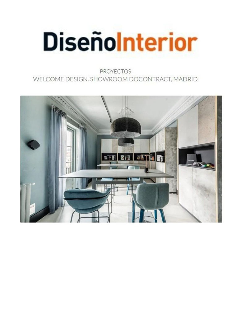 Proyectos Welcome Sesign. Showroom Docontract, Madrid